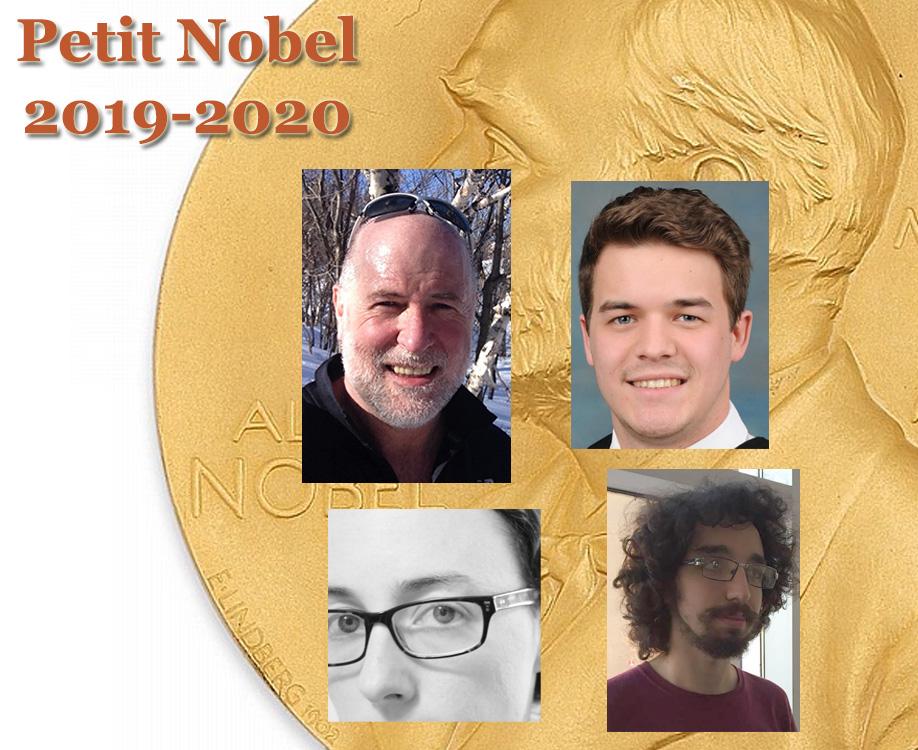 Les prix Nobel du Département de physique 2020